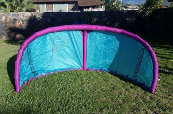 Swoop Kiteboarding Kite Inflated